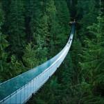 25) Capilano Suspension Bridge, Vancouver, BC, Canada