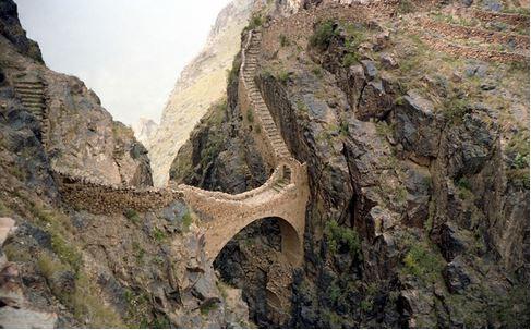 28) Shahara Bridge, Yemen