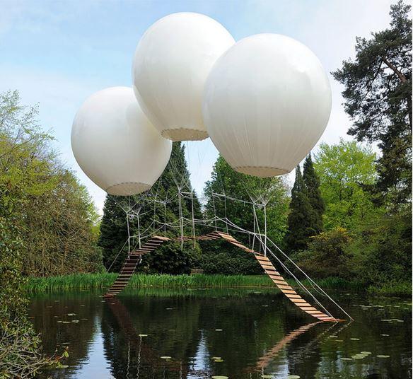 9) Pont de Singe, Tatton Park, Inghilterra