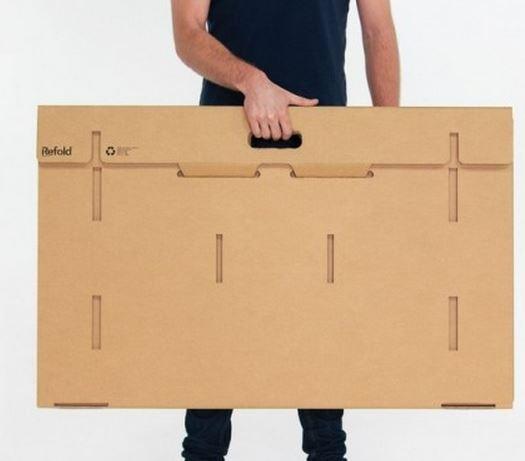 Refold scrivania di cartone