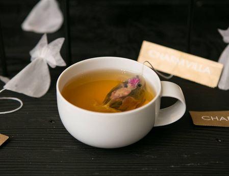 Charm Villa pesciolino rosso bustina tè