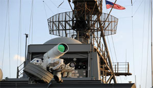Laser-Weapon-System