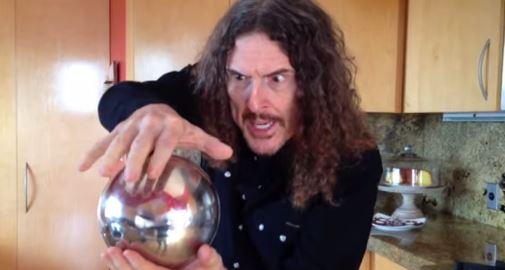 Trucco sfera d'acciaio che galleggia Weird Al Yankovic