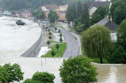 Grein rischio inondazione