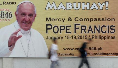 Visita del Papa a Manila 18 gennaio