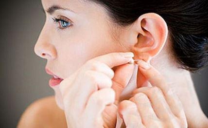 orecchio massaggi anti-stress
