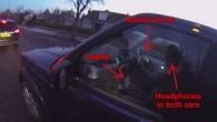 Un ciclista nella città di Aberdeen in Scozia, su una strada trafficata mentre veniva superato da un automobilista al volante della sua Land Rover, l'ha intravisto con gli auricolari, il cellulare in mano e un computer acceso accanto a lui, ha detto: «Non solo non stava prestando attenzione alla strada, […]
