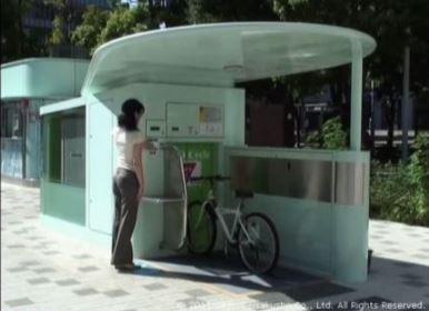 Eco-cycle parcheggio sotterraneo per biciclette