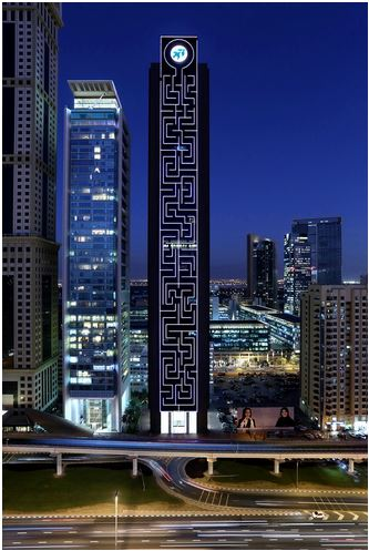 Maze Tower - Dubai