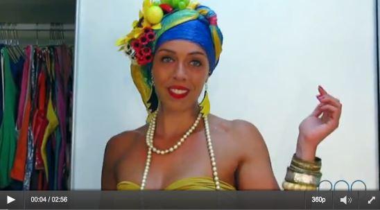 Sharon Azulay costume di carnevale passo passo