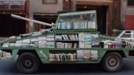 """Raul Lemesoff, un eccentrico artista di Buenos Aires ha realizzato un mezzo simile a un carro armato, l'ha chiamato """"Arma di istruzione di massa"""", intende utilizzarlo per combattere l'ignoranza e ampliare la conoscenza. Raul Lemesoff ha modificato una Ford Falcon 1979 in mezzo simile a un carro armato, con una […]"""