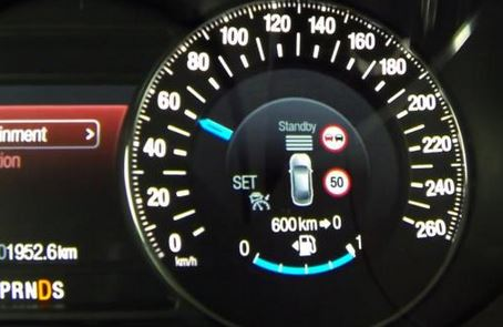 Intelligent Speed Limiter Ford