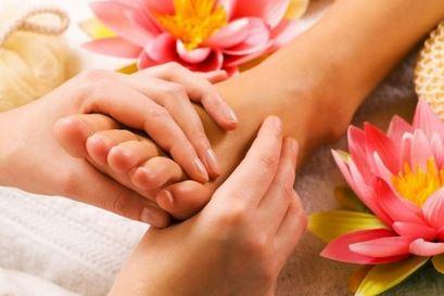 formicolio piedi massaggio