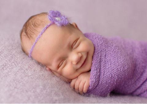 il sorriso dei neonati