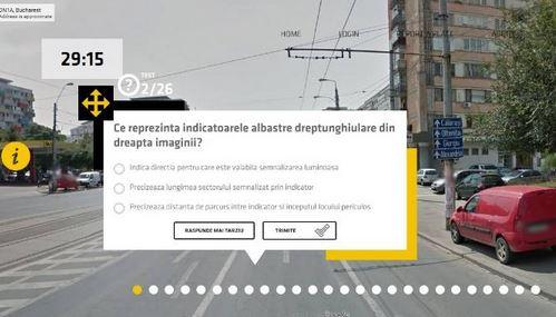 Google Street View Test patente di guida