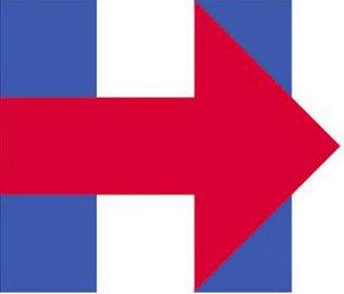 Logo Lettera H Hillary Clinton
