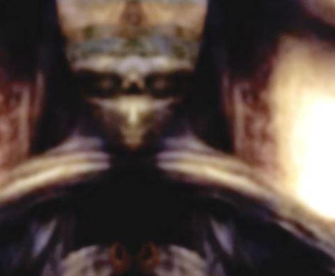Immagine aliena quadro Monna Lisa