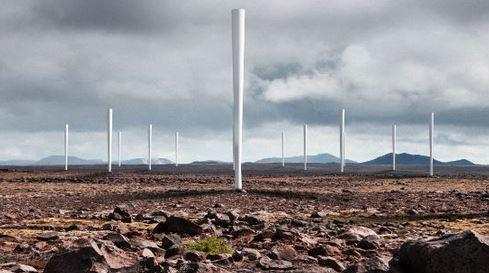 Vortex Bladeless turbina eolica senza pale
