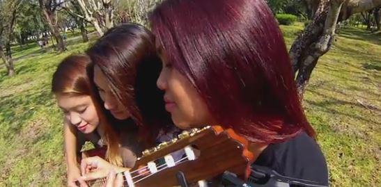 tre sorelle una chitarra