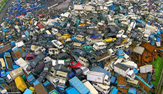 Cina veicoli da rottamare