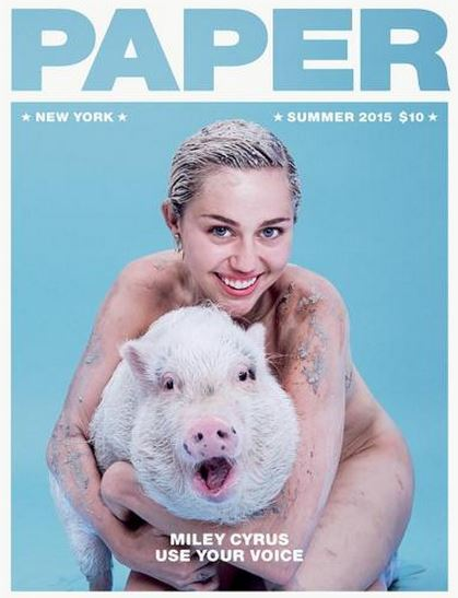 Miley Cyrus - Paper Magazine