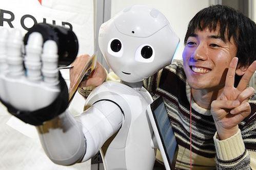 Pepper robot affettivo