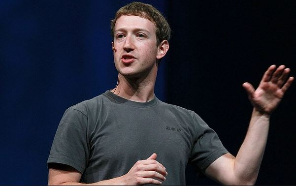 Mark Zuckerberg t-shirt grigia