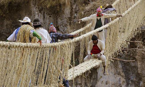 Ponte di corda di Q'eswachaka