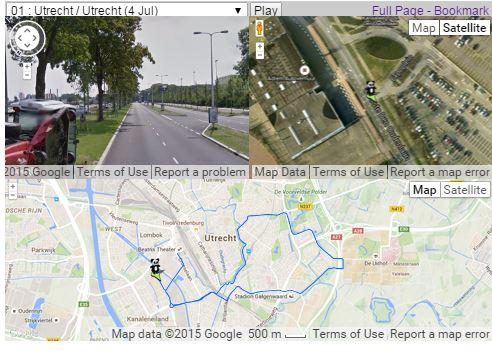 Tour de France Street View Tour