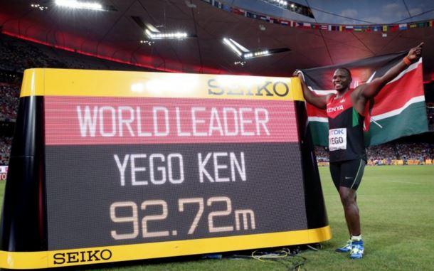 Julius Yego campione olimpico giavellotto