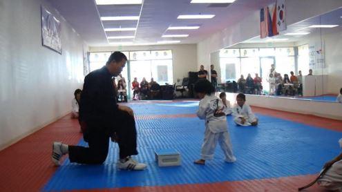 Taekwondo bambino cintura bianca