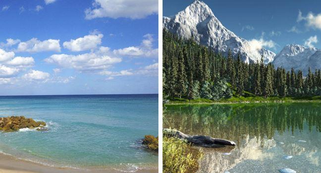 mare o montagna