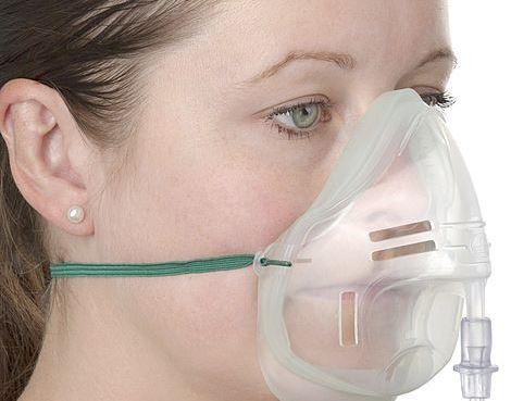 mascherina ossigeno