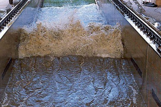 Delta Flume onde artificiali