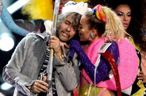 Miley Cyrus e Wayne Coyne