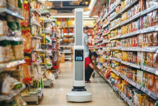Robot Tally inventario supermercati