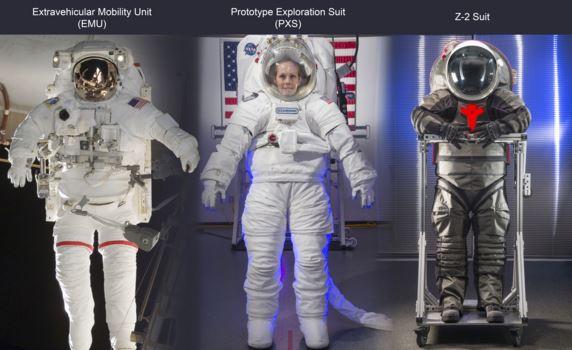 Z-2 nuovo prototipo tuta spaziale per Marte