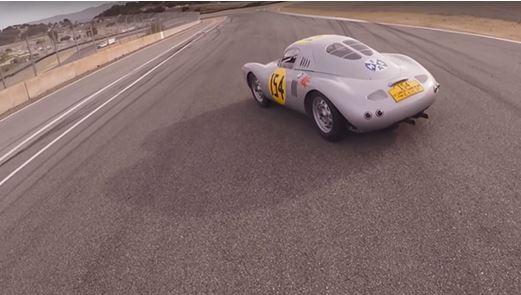 Porsche giro con le iconiche macchine
