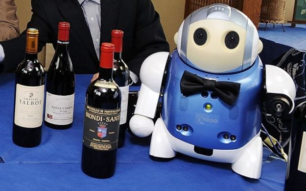 Robot lavoro degli umani