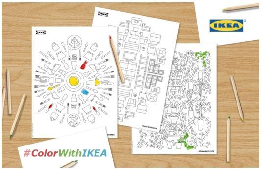 IKEA pagine da colorare