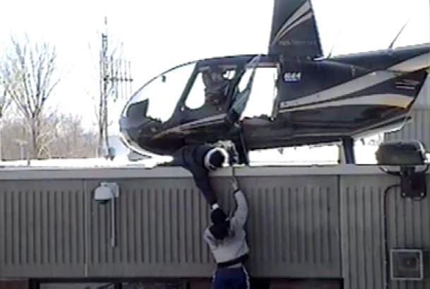 Evasione elicottero carcere Quebec