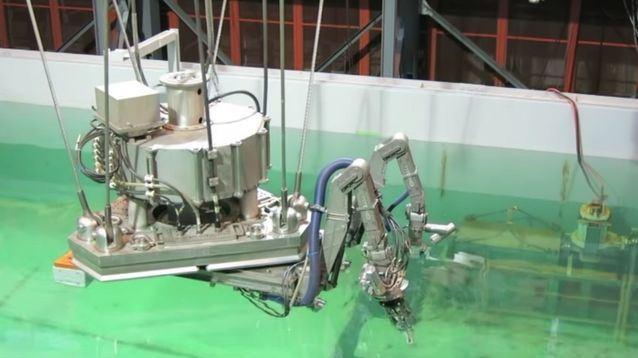 Fukushima robot