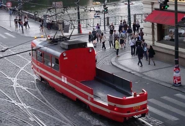 Mazací Tramvaj webcam tram Praga