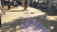 La scultura della vagina è stata realizzata con circa diecimila carte utilizzate per pubblicizzare le prostitute, in occasione della Giornata internazionale della donna è stata posta nel centro di Tel Aviv. Sasha Kurbatov e Vanane Borianhanno impiegato un anno per realizzare la scultura chehanno messo in mostra sul Rothschild Boulevard, […]