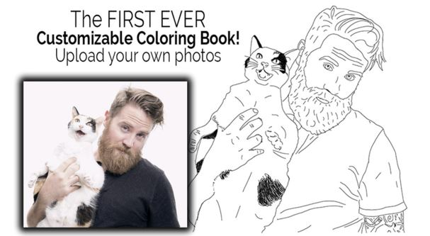 Color Me Book libro da colorare con le foto Instagram
