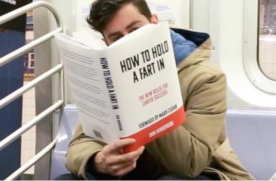 Scott Rogowsky copertine libri finti