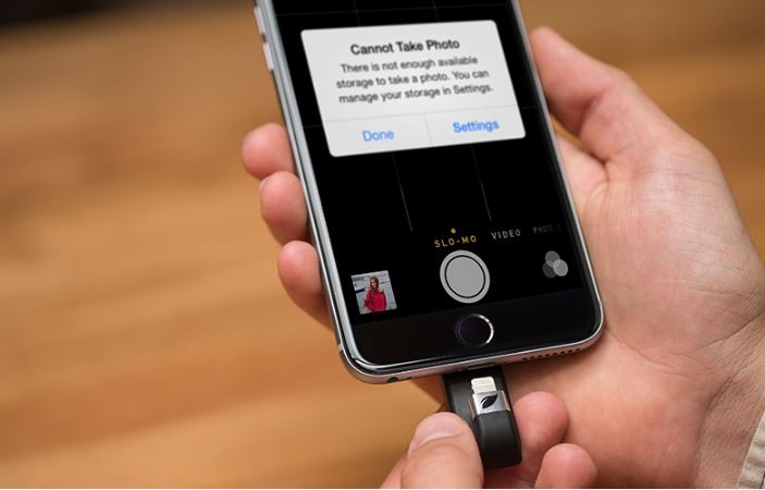 iPhone espansione memoria