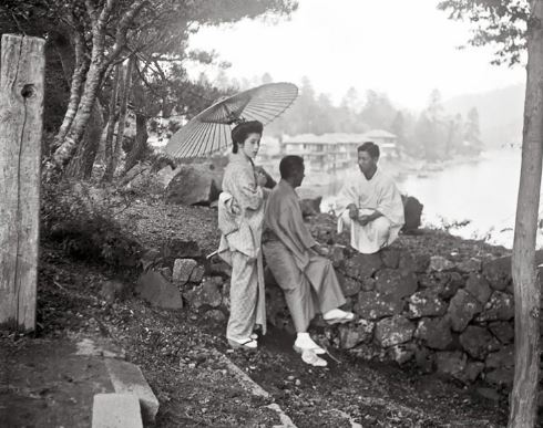 Giappone nel 1908 foto di Arnold Genthe