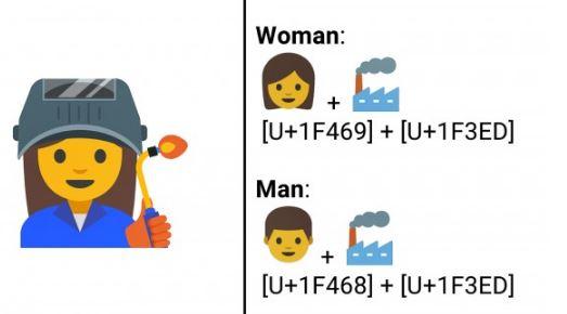 emoji lavori femminili