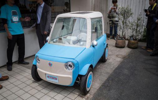 Rimono vettura giapponese in telo